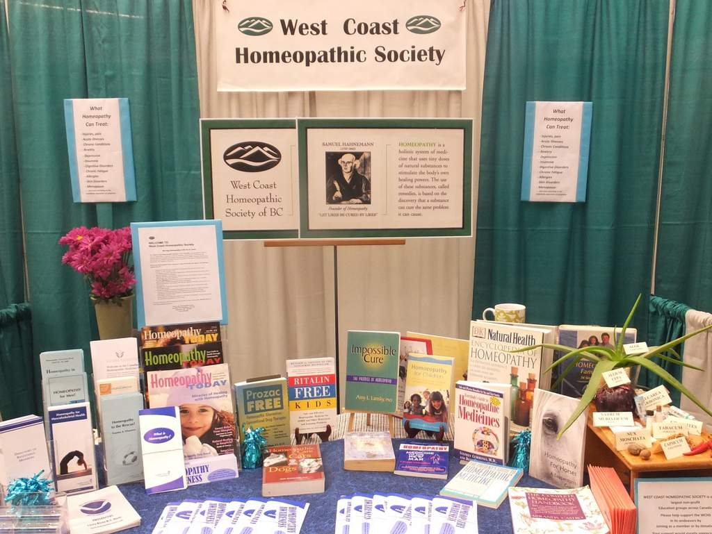 WCHS Booth
